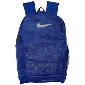 Nike Brasilia Mesh Backpack - Blue